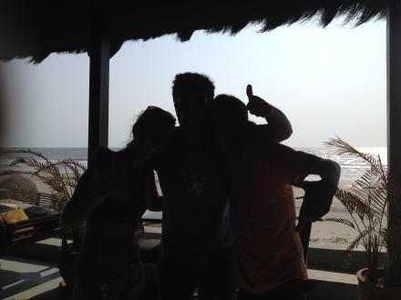 Maria, Moi and Hitesh