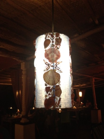 Lamps with shellfish!