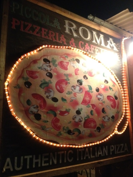Pizza Roma - Abode of blessed thin crust pizzas