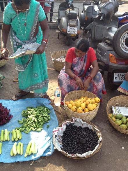 Ladies in the market
