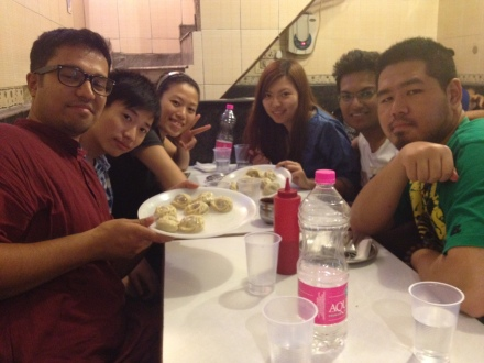 Momos and us!