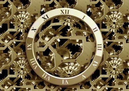Time flows eternal.