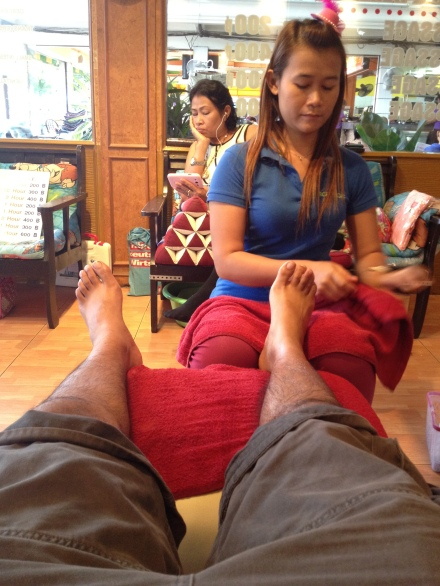 Foot Massage at Pattaya