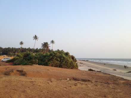 Ashwem Beach, Goa